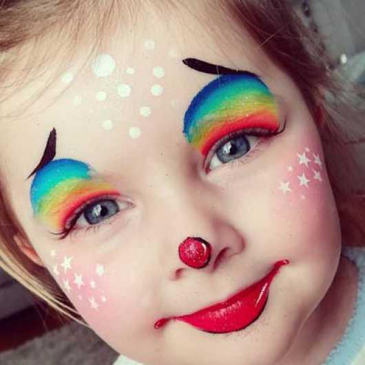 نقاشی چهره کودکان