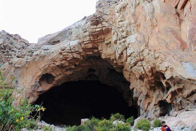 غار حیاط دریا